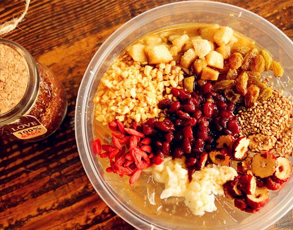 红豆糍粑冰粉